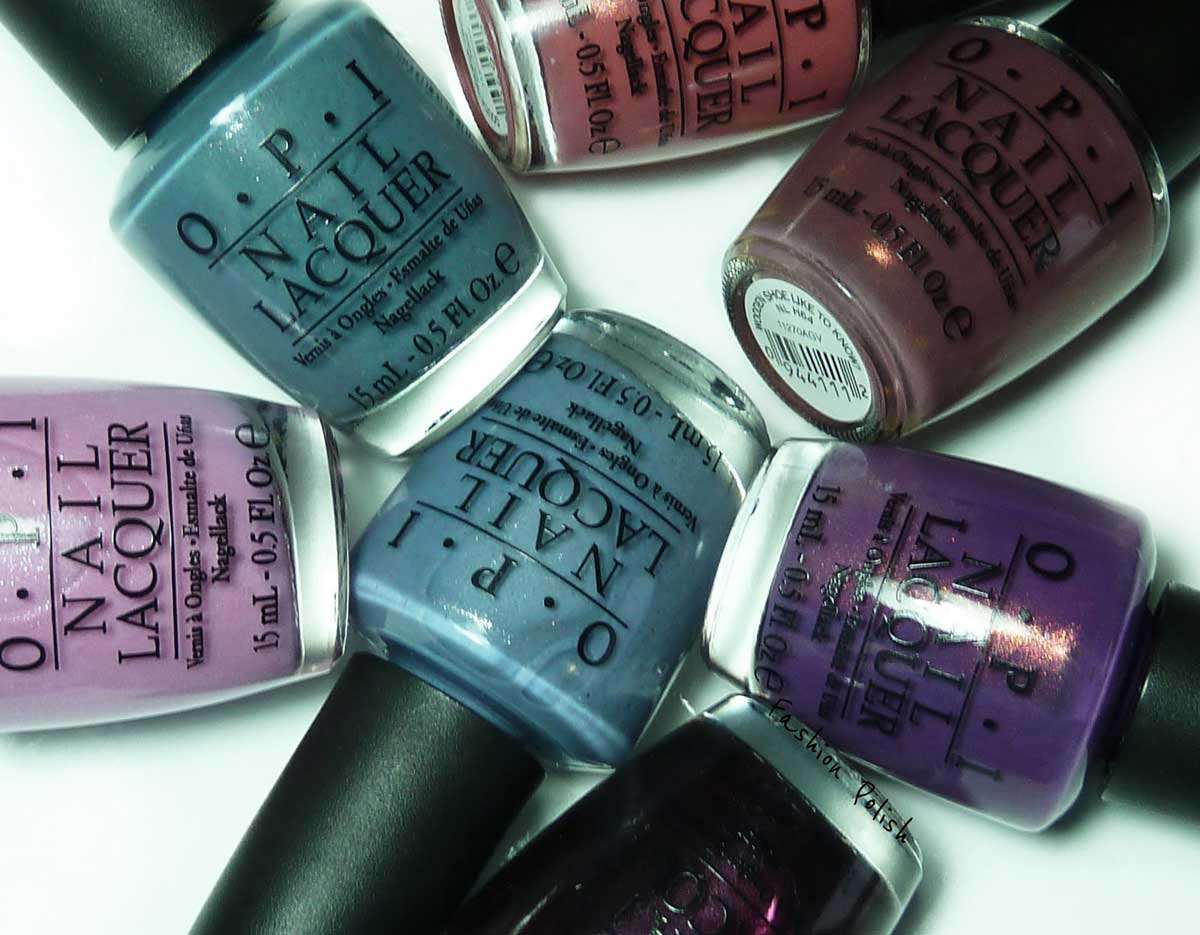 Collection OPI Holland
