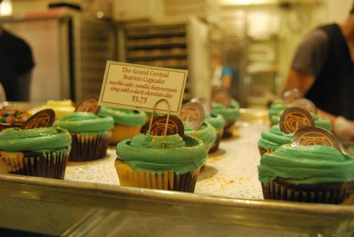 Grand Central Station Cupcake
