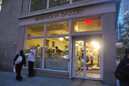 Vitrine Magnolia Bakery - NYC