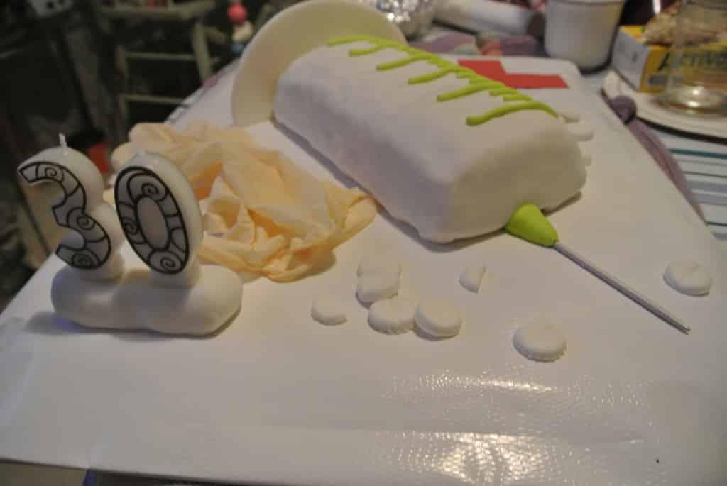 Gâteau Seringue