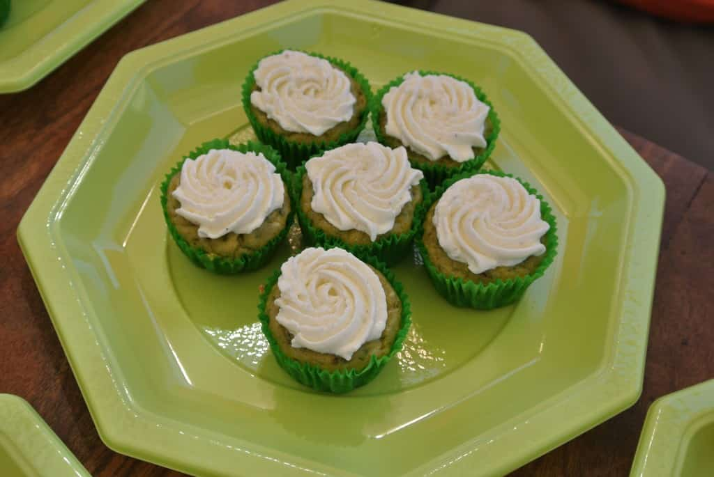Cupcakes Courgette/Chèvre