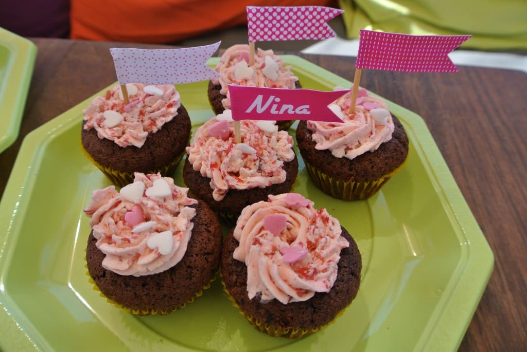 Cupcakes Chocolat / Framboise