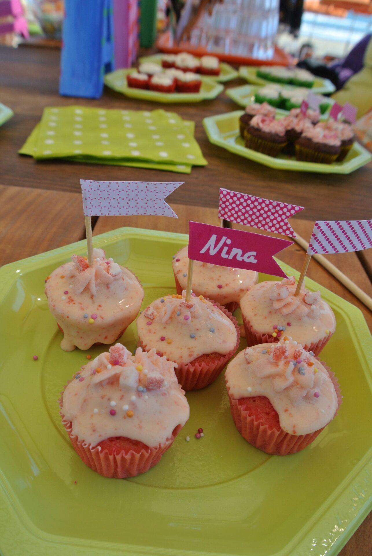 Cupcakes Vanille/Tagada