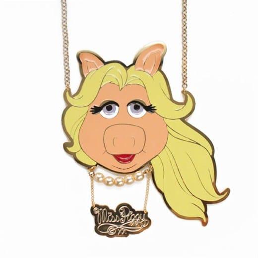 Collier Miss Piggy