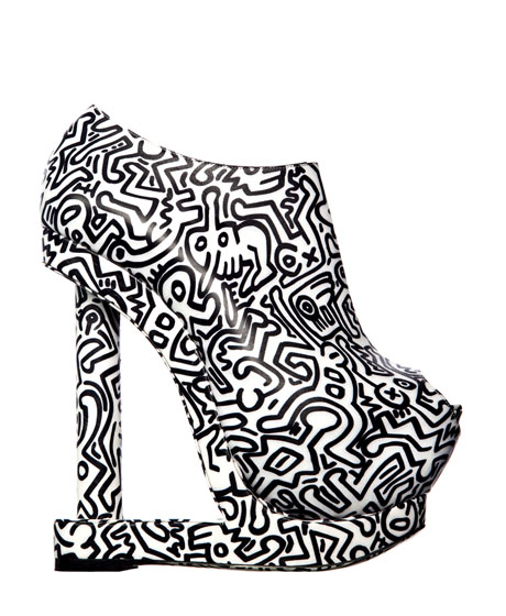 Nicholas Kirkwood / Keith Haring