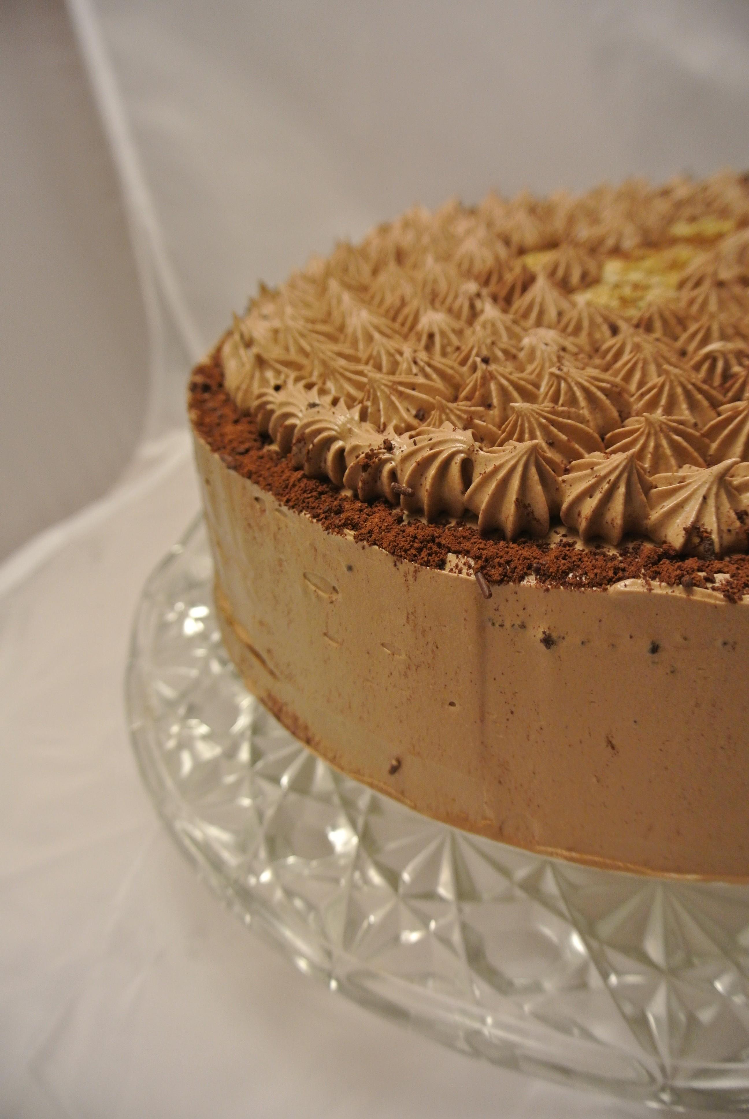 Chocolate & Banana Layer Cake