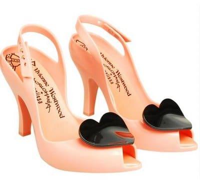 Melissa Vivienne Westwood Heart Coral