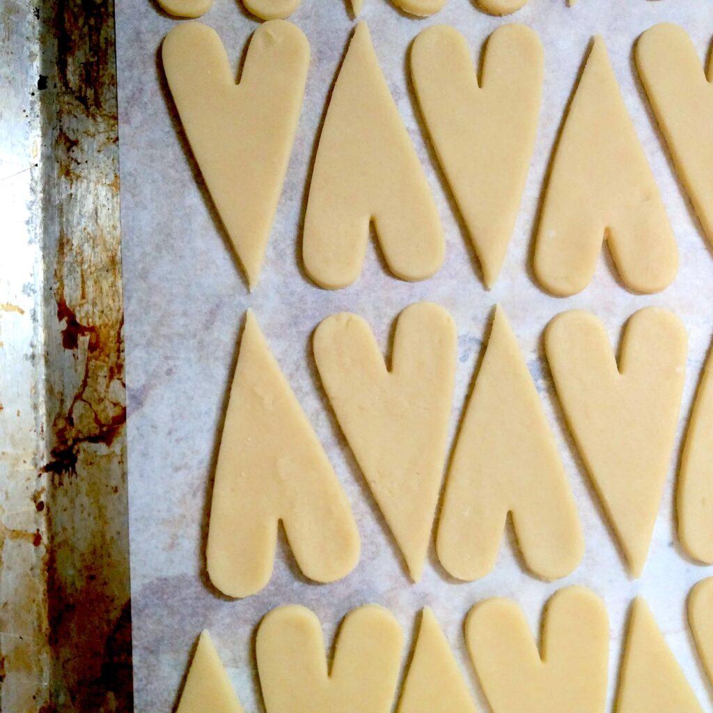 Biscuits Coeurs Saint Valentin