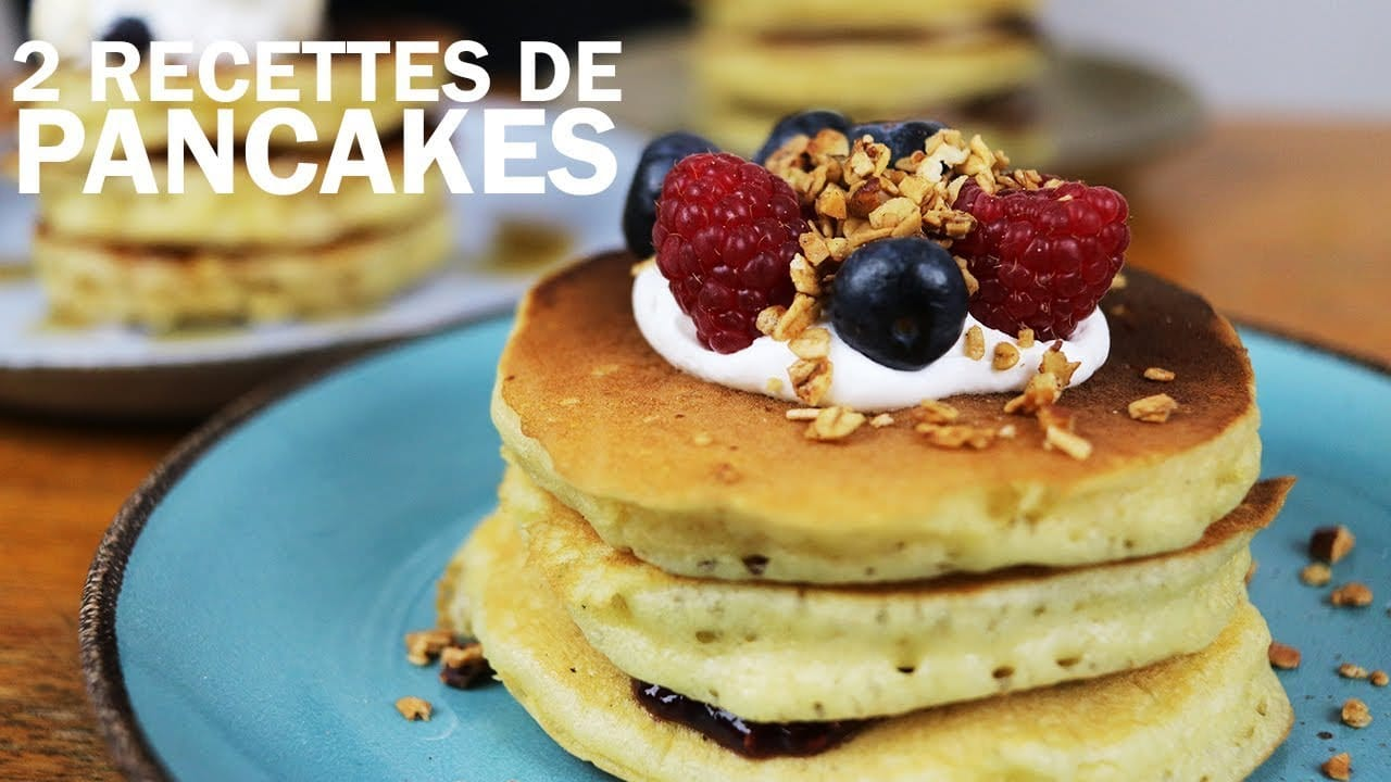 Recette Pancakes Moelleux Mary Cherry