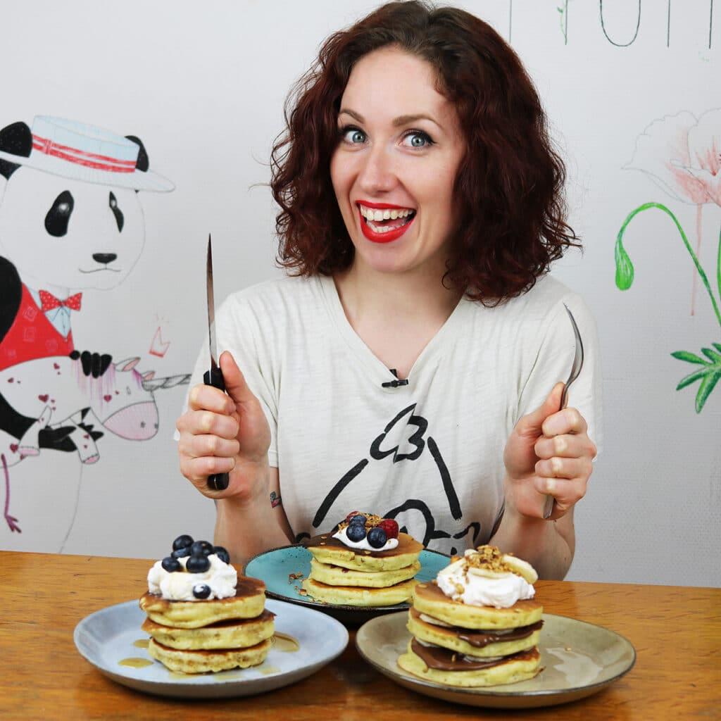 Mary et ses pancakes moelleux